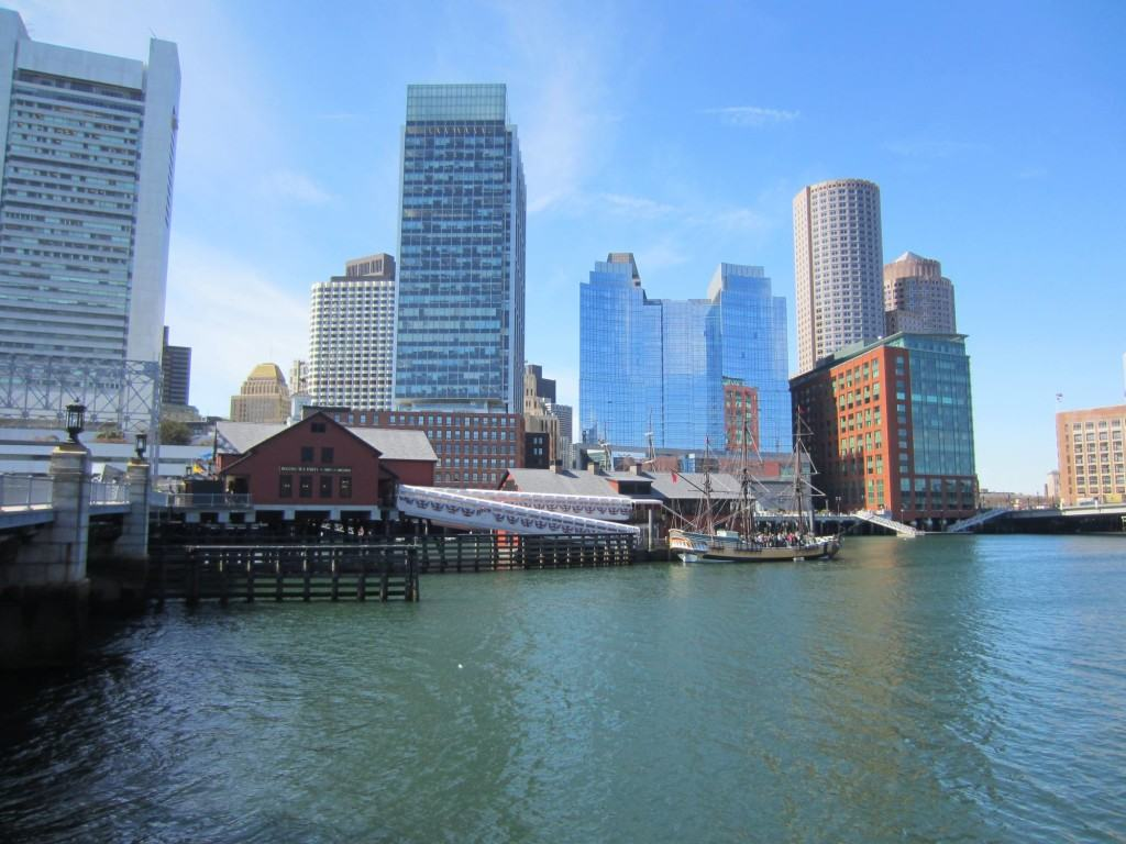 Boston Waterfront and Tea Party