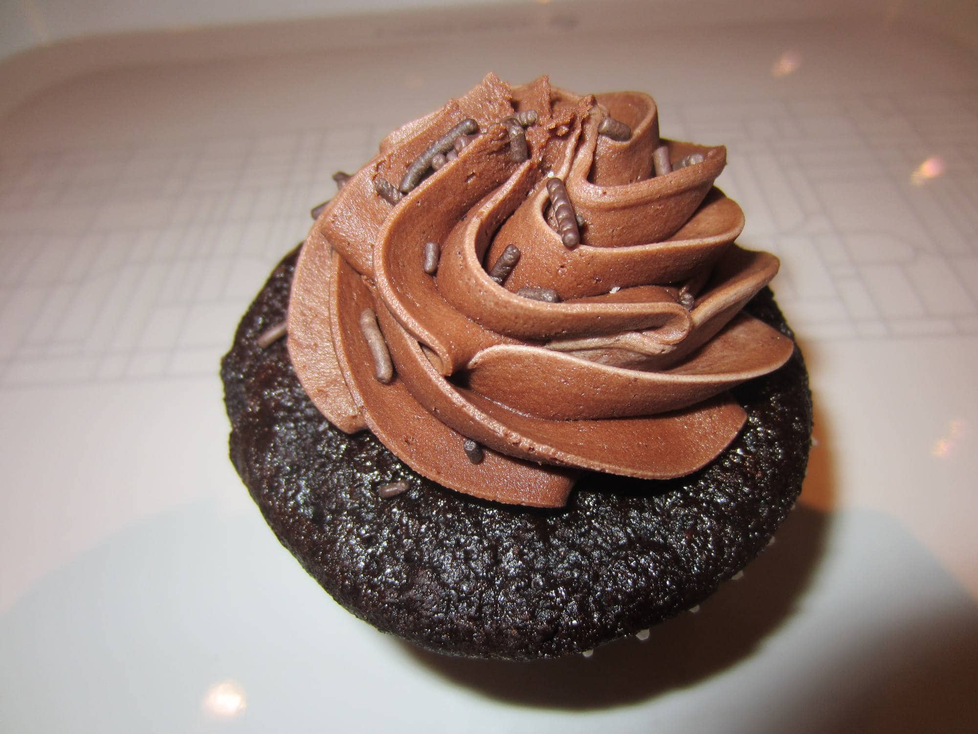 Vegan Cupcake at the Urban Herbivore