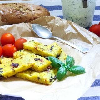 Vegan Mediterranean Polenta
