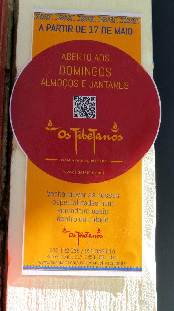 Os Tibetanons, Vegan in Lisbon