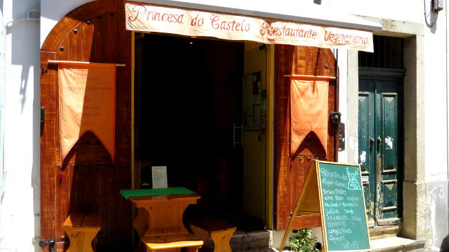 Princesa do Castelo, Vegan in Lisbon