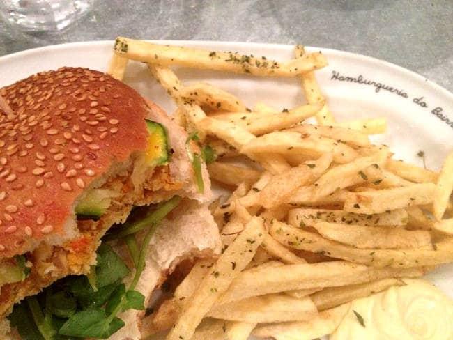 Vegan Burger in Lisbon