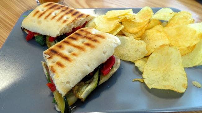 Vegan Sandwich in Belem, Lisbon