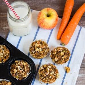 Vegan Zucchini Carrot Muffins