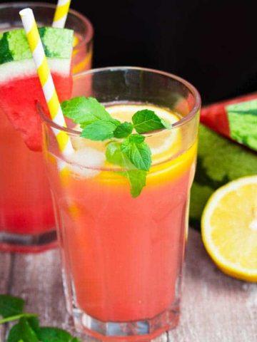 Super Refreshing Watermelon Lemonade
