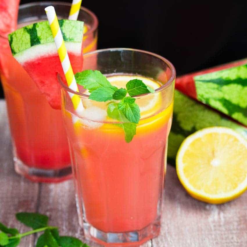 Pink Watermelon Lemonade