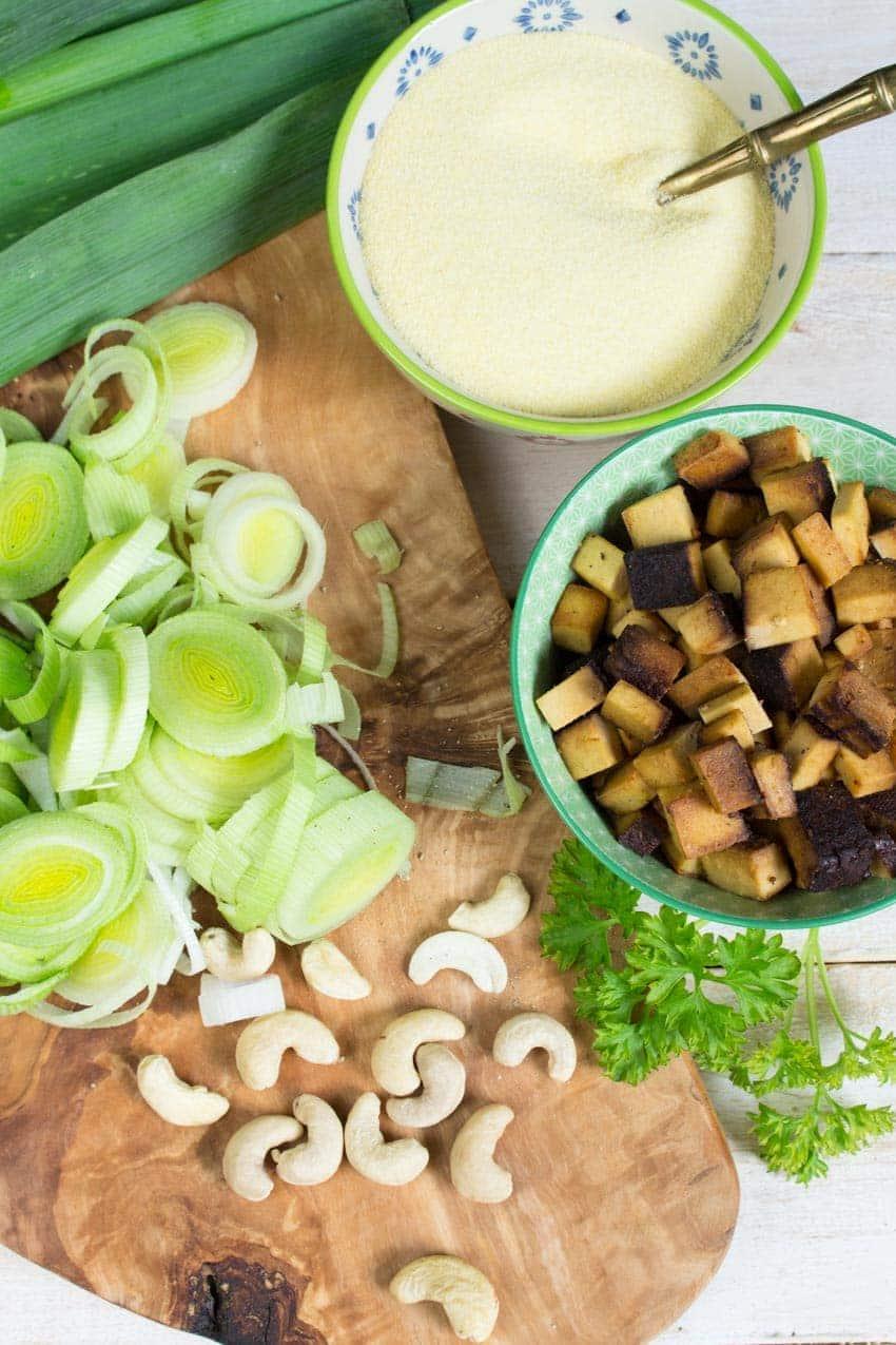 Vegan German Cheese Spaetzle