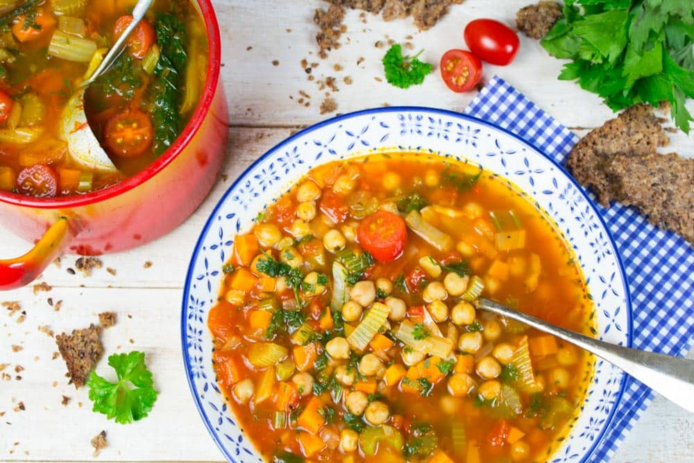 healthy vegetarian soup recipes