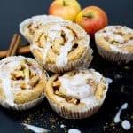 Vegan Cinnamon Rolls with Apples