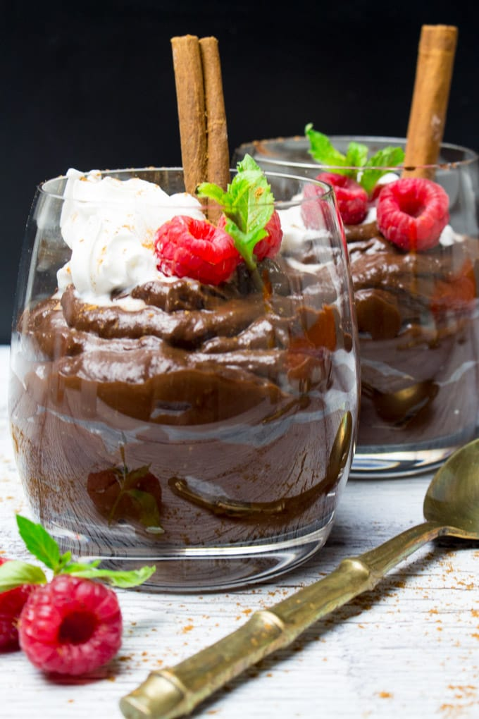 Gingerbread Avocado Chocolate Mousse