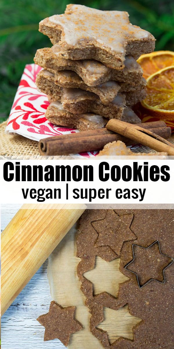If you're looking for vegan Christmas cookies, these vegan orange cinnamon cookies are perfect for you! They're super easy to make and can be made gluten-free too! #vegan #veganrecipes #Christmascookies