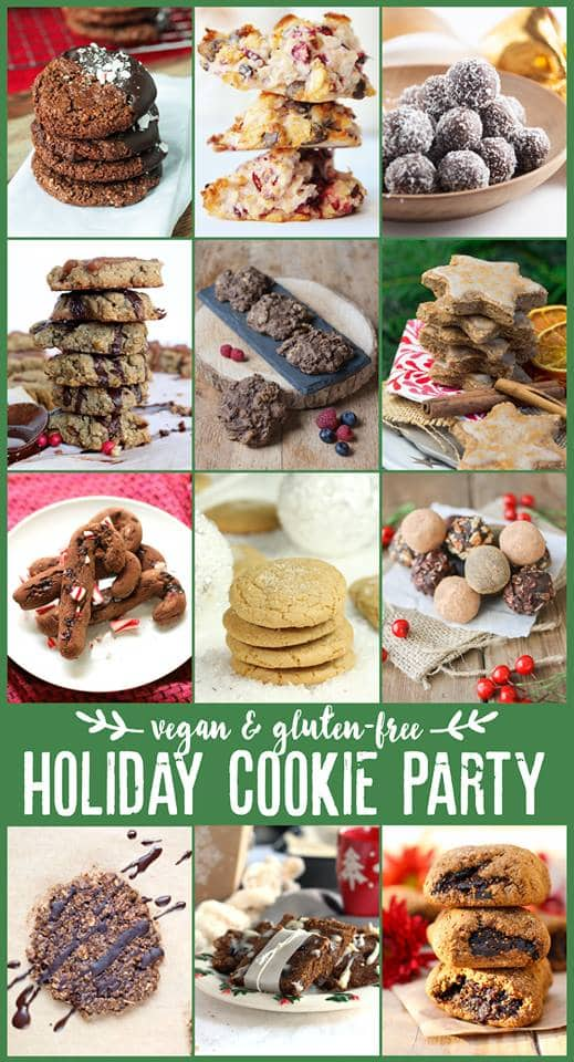 Holiday Cookie Party (vegan & gluten-free)