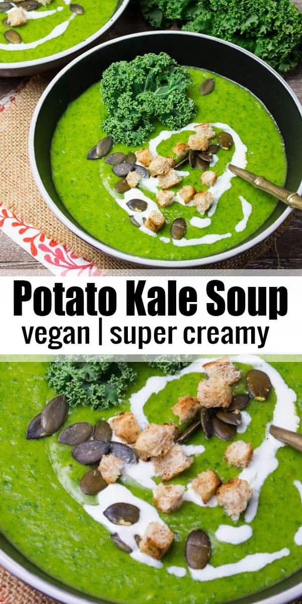 Vegan Potato Kale Soup Vegan Heaven