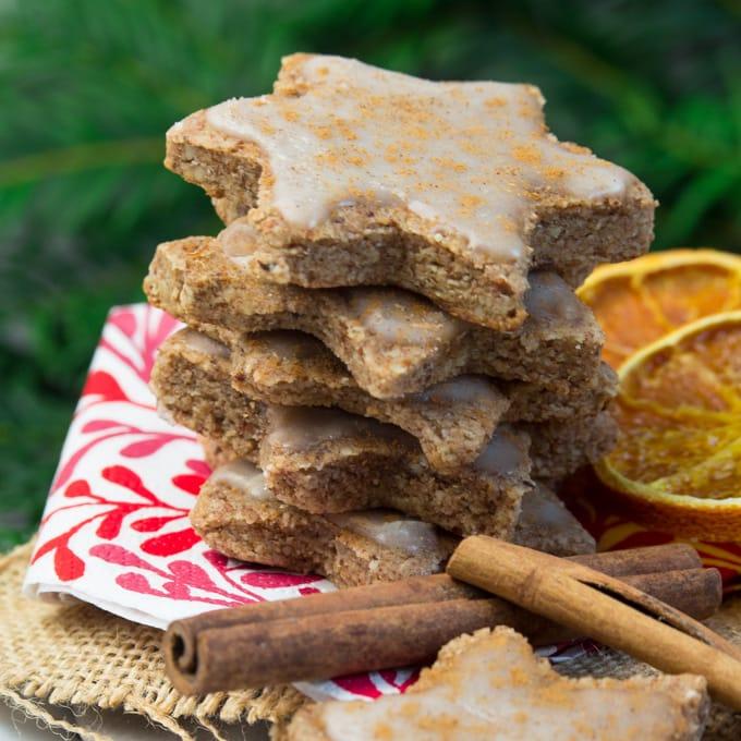 Vegan Orange Cinnamon Christmas Cookies - Vegan Heaven