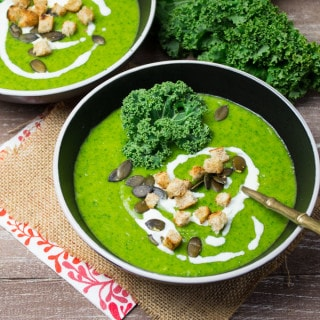 Vegan Potato Kale Soup