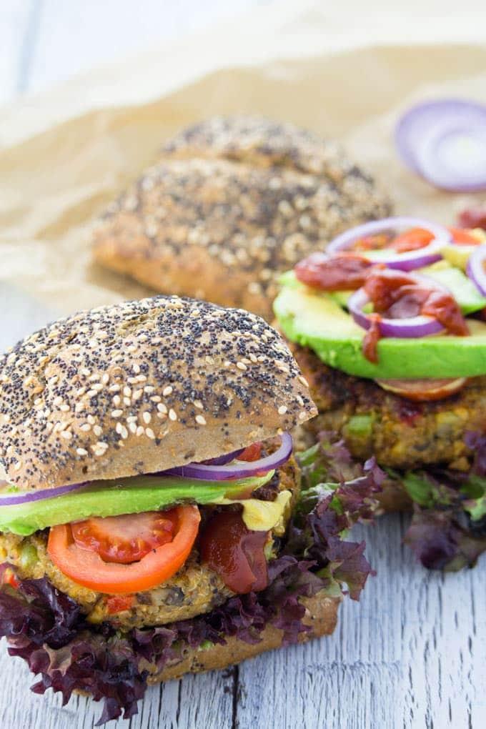 Chickpea Quinoa Power Burger
