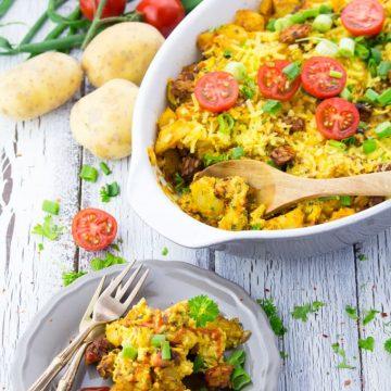 Vegetarian Breakfast Casserole
