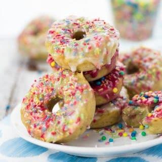 Birthday Donuts with Funfetti