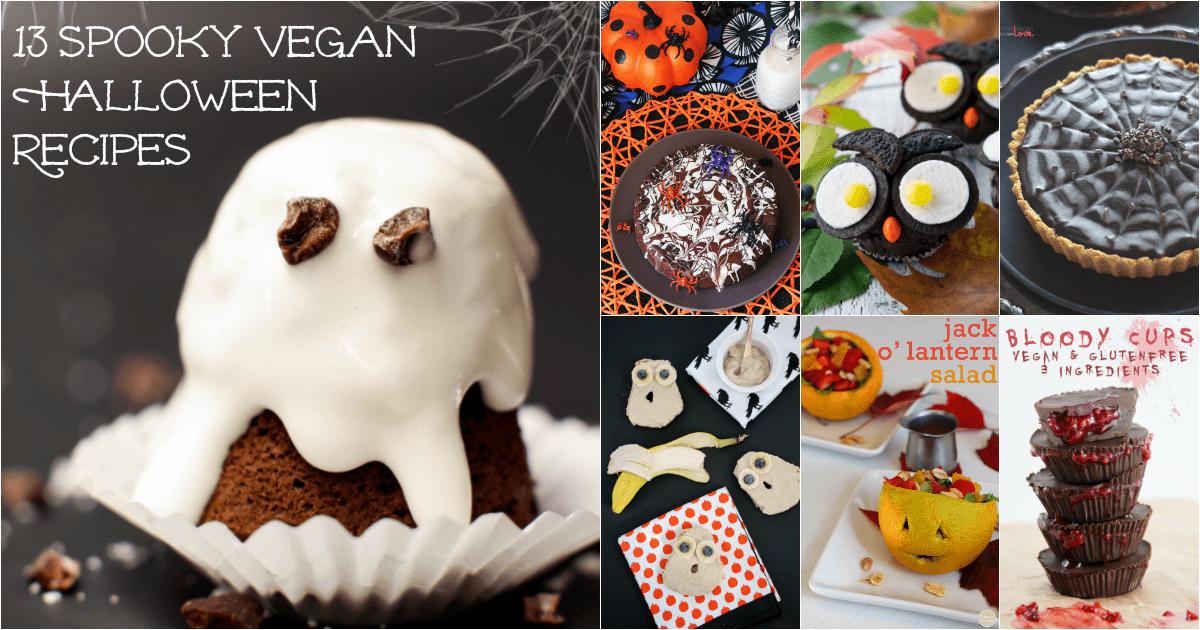 17 Delicious and Spooky Vegan Halloween Recipes