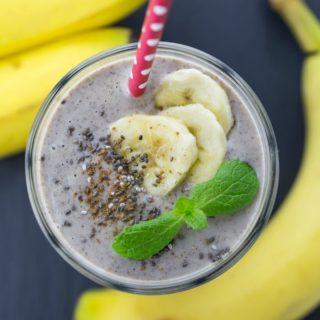 Banana Smoothie without Yogurt and Milk