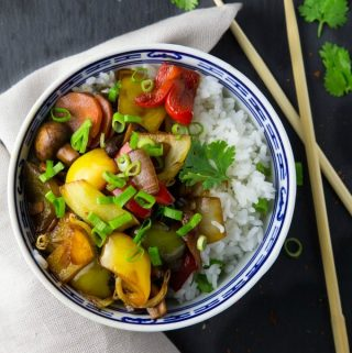 Chinese Vegetable Chop Suey