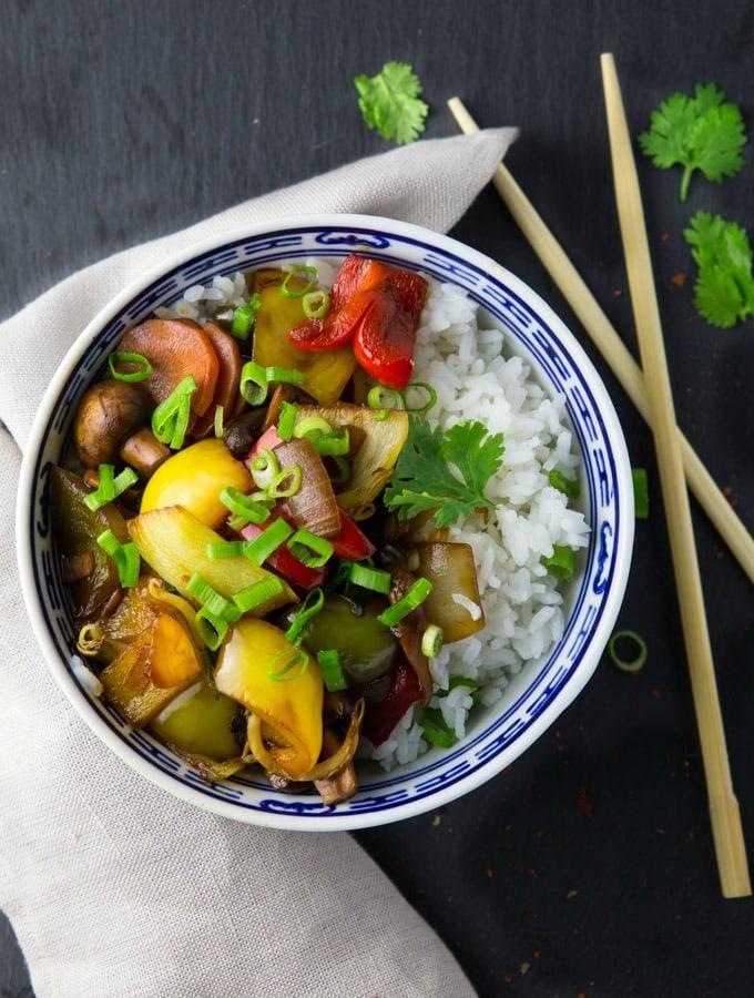 Chinese Vegetable Chop Suey Vegan Heaven