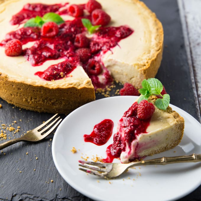 Vegan Cheesecake (without Cashews)