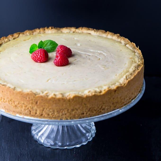 Vegan Cheesecake (without Cashews)