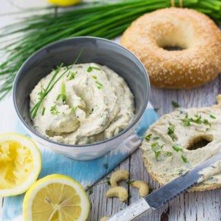 Vegan Cream Cheese with Cashews