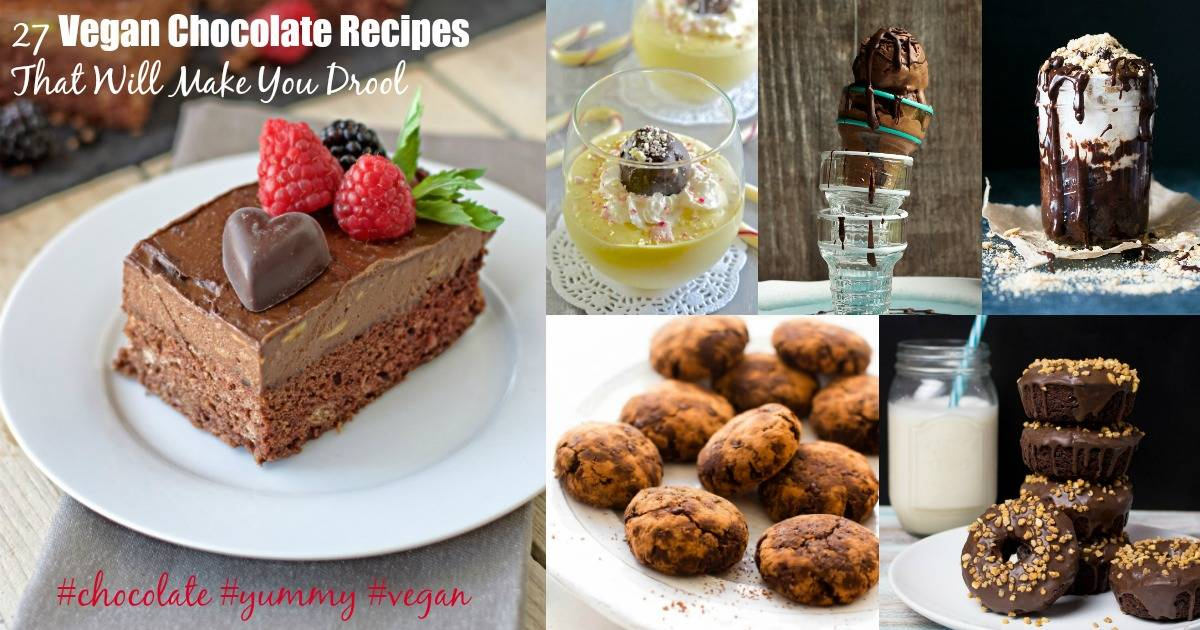 27 Vegan Chocolate Recipes That Will Make You Drool