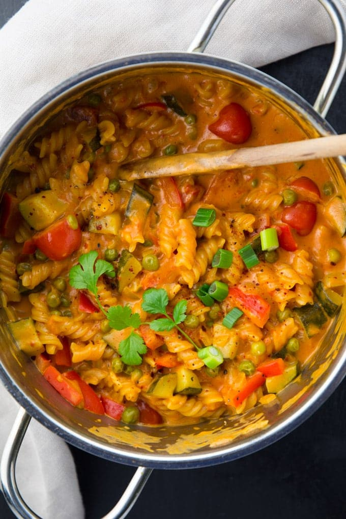 Creamy vegan one pot pasta asian style vegan heaven save forumfinder Image collections