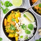 Vegan Chickpea Curry with Potatoes