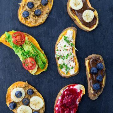 Sweet Potato Toast (Vegan & Gluten-Free)
