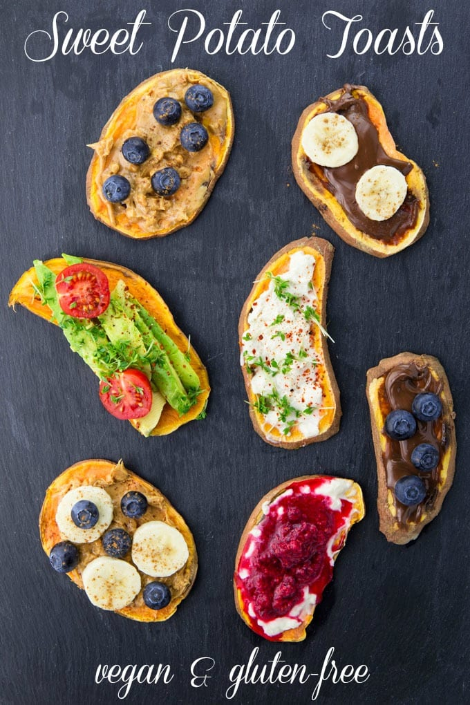 Sweet Potato Toast (Vegan & Gluten-Free)