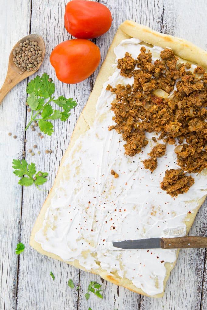 Taco Pizza (Vegan & Super Easy)