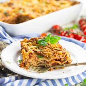 Meatless Lasagna (Vegan)