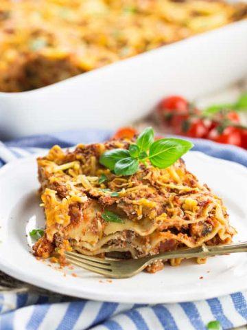 Meatless Lasagna (Vegan)