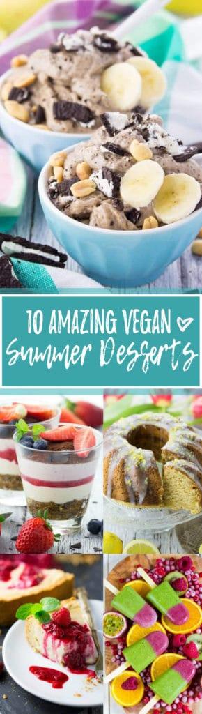 10 Amazing Vegan Summer Desserts
