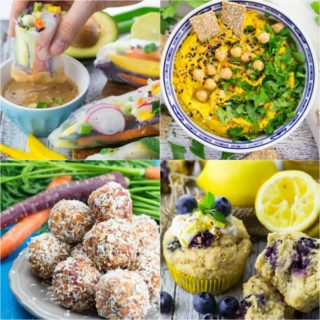 Back To School - 10 Amazing Vegan Lunch Box Recipes