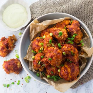 Cauliflower Hot Wings (Vegan & Gluten-Free)