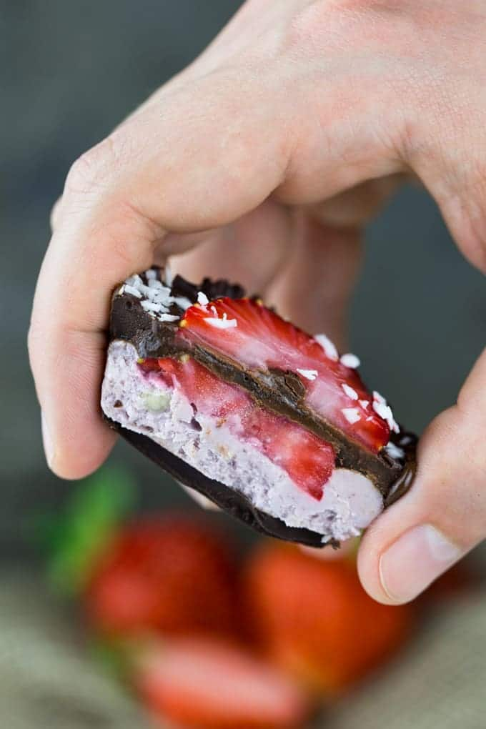Strawberry Chocolate Dessert Cups