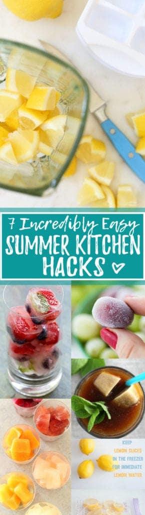 7 Amazing Summer Kitchen Hacks!