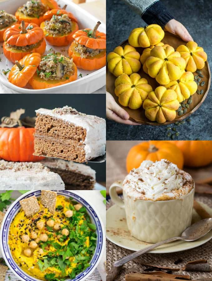35 Stunning Vegan Pumpkin Recipes You Need To Try This Fall