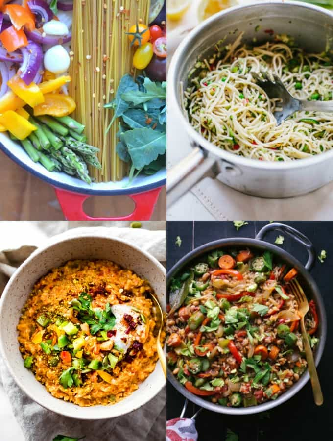 30 Easy Vegan One Pot Meals