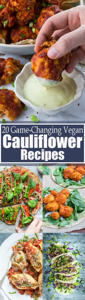 20 Amazing Vegan Cauliflower Recipes