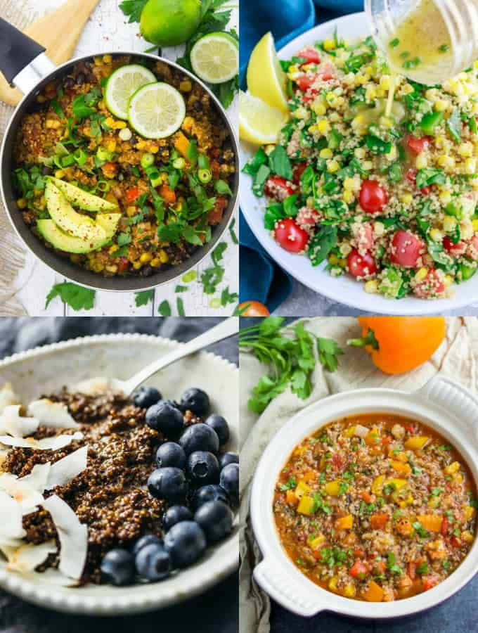 23 Healthy Vegan Quinoa Recipes Vegan Heaven