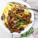 Mushroom Bourguignon - Super Easy Recipe!