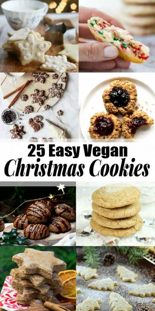 25 Amazing Vegan Christmas Cookies Vegan Heaven