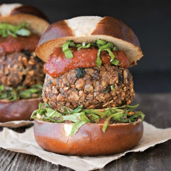 Vegan Meatball Burger & Vegan Burgers & Burritos Cookbook Review