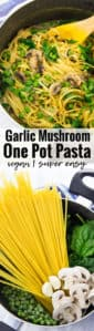 Vegan Garlic One Pot Pasta